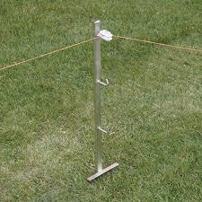 Rutland Electric Fencing T Section Corner Post 79cm Chelford Farm Supplies