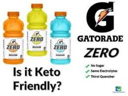 gatorade zero keto review is it keto