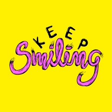 Illustration of keep smiling phrase vector - Download Free Vectors ...