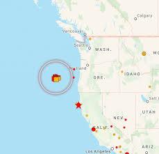 Terremoto negli Stati Uniti d'America, paura lungo la West Coast ...