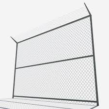 Low Poly Fence 3d Model In Miscellaneous 3dexport