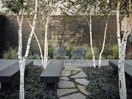 Backyard Fence Ideas With River Rock Side Yard Path