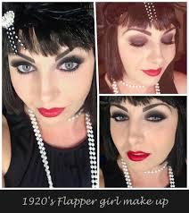 1920 s flapper halloween makeup
