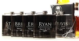 wedding party gifts flasks for
