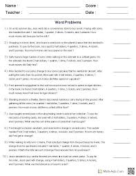 linear equations word problems with