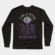 wiccan pagan witch t shirt i am a witch