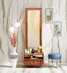 avilys solid wood dresser with mirror