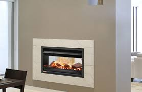 universal double sided wood fireplace