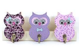 Kids Wall Hook Children Coat Rack Baby Girl Room By Prettymshop Kids Wall Hooks Owl Wall Decor Purple Nursery