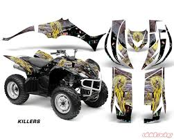Amr Racing Decal Graphic Kit Quad Sticker Wrap Im Killers Yamaha Wolverine 450 06 12 Yam Wolverine 450 06 12 Im Kill