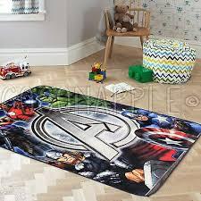 Super Ninos Marvel Vengadores Superheroe Diversion Alfombra S 100x150cm Entrega Gratuita Ebay