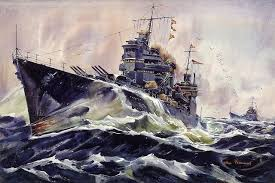 U S Navy Cruisers Wallpaper Wall Mural Self Adhesive Contemporary Wall Decals By Magic Murals Llc