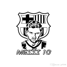 Large Messi No 10 Wall Decal Soccer Decor Diy Football Star Sticker Murals For Living Room Bedroom And Boys Room Decor Messi Posters Wall Stickers For Children Wall Stickers For Girls From Jy9146