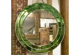 art deco wall mirror early 20th