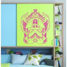 Shop Stylish Storm Trooper Helmet Star Wars Hot Pink Vinyl Sticker Wall Art Overstock 10425846