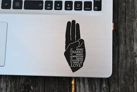 Three Finger Salute District 12 Salute Hunger Games Vinyl Decal Laptop Decal Macbook Decal Wall Sticker Car Dec Hunger Games Vinyl Sticker Macbook Decal