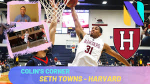 Seth Towns Harvard Crimson Scouting Report | Former Ivy League Player of  the Year | Colin's Corner - YouTube