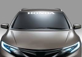 Honda Windshield Banner Decal Sticker Custom Sticker Shop