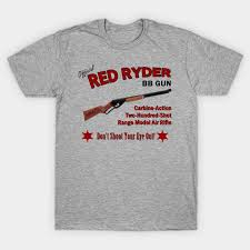 red ryder bb gun holiday t shirt
