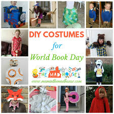 diy world book day costume ideas for