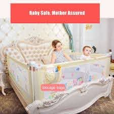 Imbaby Baby Bed Fence Barrier Bed Fence Child Barrier For Beds Crib Rails Baby Bed Fence Safety Gate Baby Barrier Safty Playpen Baby Playpens Aliexpress