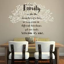 Family Tree Wall Decal Vinyl Decor For Decorating Home Family Room Kitchen Bedroom Customvinyldecor Com