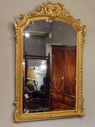 antique gilt mirror french antique