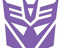 Decepticon Car Decal Etsy