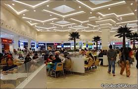 ordering a staff meal inside malls