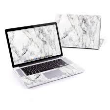 White Marble Macbook Pro Pre 2016 Retina 15 Inch Skin Istyles