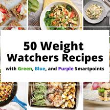 50 weight watchers recipes slender