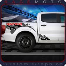 Ford Ranger Raptor Truck Graphics Decal Stickers