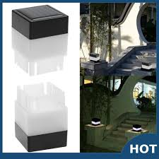 Ver Cod Outdoor Led Solar Post Headlamp Waterproof Fence Lamp Shopee Philippines