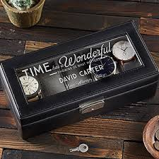 end gl leather watch box