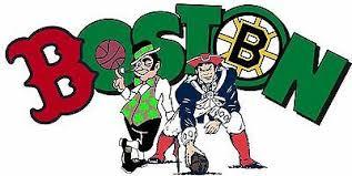 Boston Sports Fan Logo Vinyl Vehicle Red Sox Patriots Decal Window Sticker Ebay