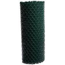 5 Ft H X 50 Ft L 9 Gauge Vinyl Coated Steel Chain Link Fence Fabric In The Chain Link Fence Fabric Department At Lowes Com