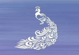 Peacock Decal Peacock Sticker Car Decal Laptop Decal Cup Etsy