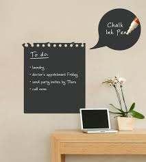 1pcs Wall Sticker Chalkboard Sticker Removable Blackboard Wall Stickers For Kids Rooms Home Decor With Regular Chalks Chalkboard Stickers Sticker For Kids Roomwall Stickers For Kids Aliexpress