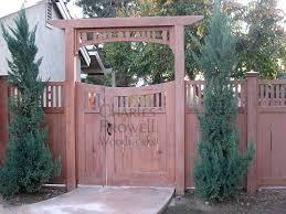 gate arbor fence diy techniques