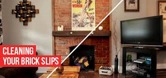 cleaning brick slip interior walls