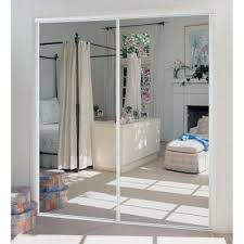 x 80 in 230 series steel white mirror
