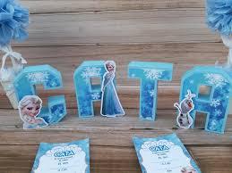 Letras 3d Frozen 14 Cm Candy Decoracion Cumpleanos X 1 150 00