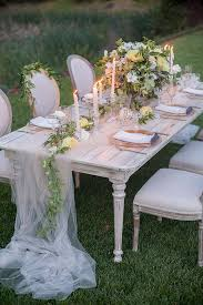 soft romantic garden wedding ideas