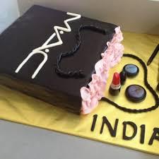 mac makeup gift bag birthday cake with