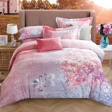 cute swan pastel ombre style romantic