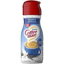 french vanilla coffee creamer liquid