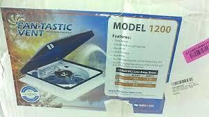 fantastic fan tastic rv roof vent 6600r