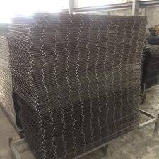 Wire Mesh Panel Buy Wire Fence Panels Hog Wire Panels Galvanized Steel Wire Mesh Panels Product On Alibaba Com