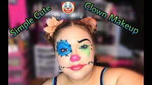 cute simple clown makeup