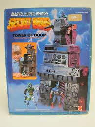 1984 Mattel Secret Wars Doctor Doom S Tower Of Doom Misb